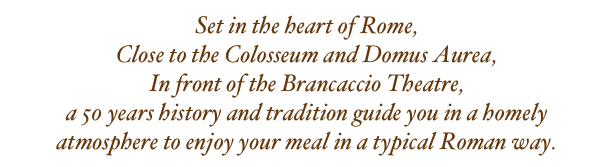 Set in the heart of Rome,